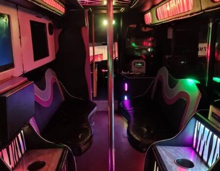 Limobuss med Karaoke